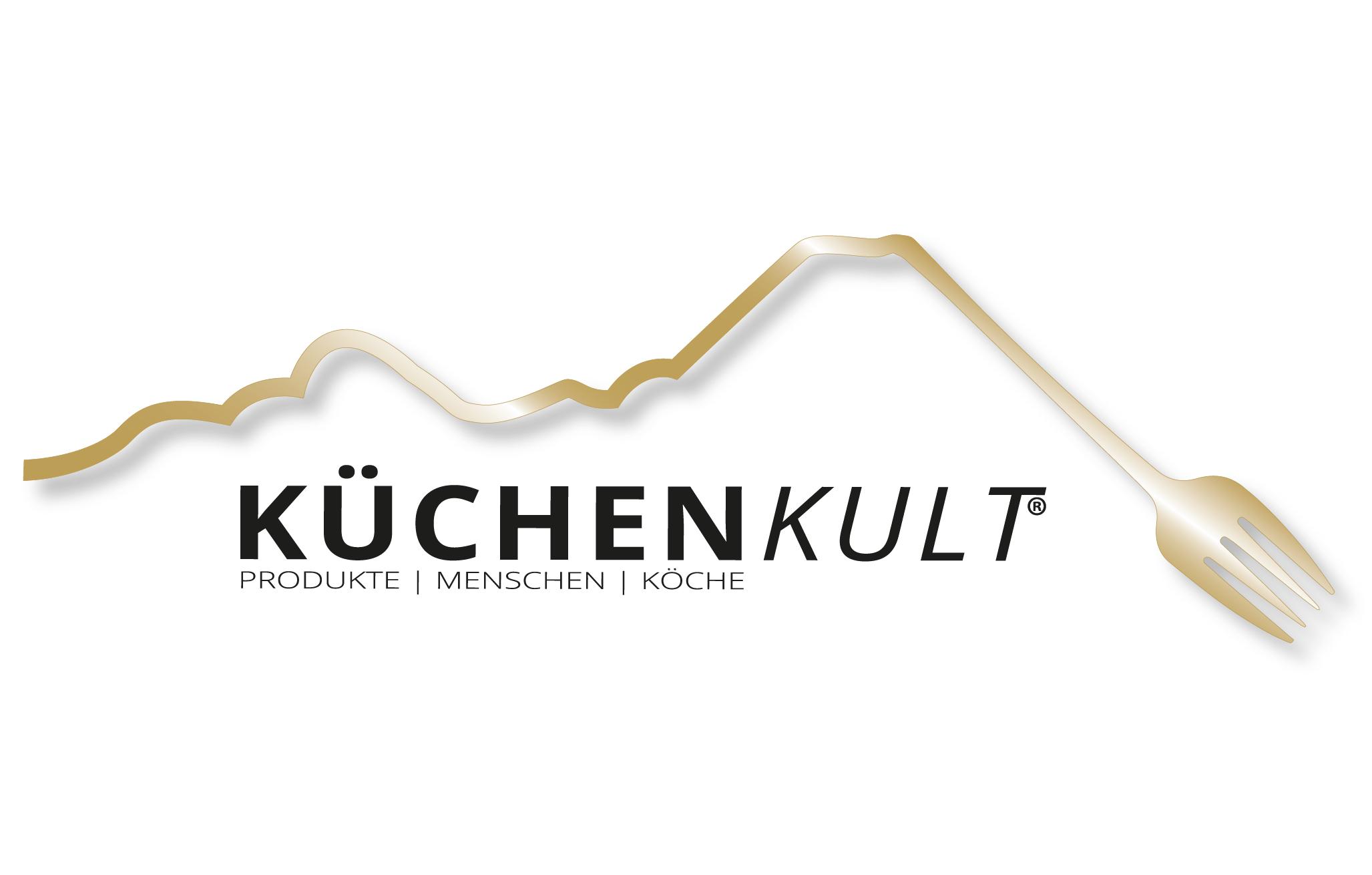 <p>Logo der Genussveranstaltung KüchenKult in der Region Villach.</p>